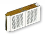 Type A(C) Composite Rock Wool Perforated Sound Reduction Wall Panel